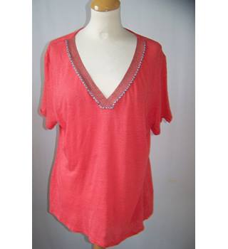 Monsoon - Size: 14 - Pink - Blouse