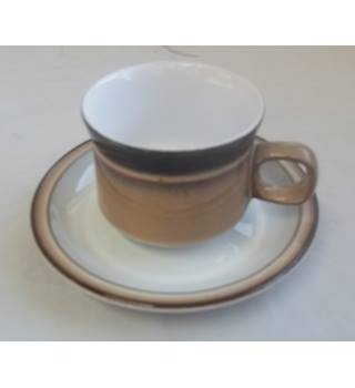 Vintage Denby Handcrafted Fine Stoneware Cup And Saucer