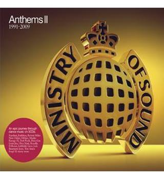 Anthems II Ministry of Sound 1999-2009 , New and sealed