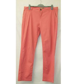 "Fat Face - Size: 40"" - Watermelon Pink - Trousers"