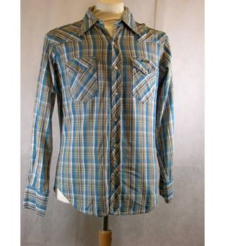 wrangler-shirt-multi-size small wrangler - Size: S - Multi-coloured