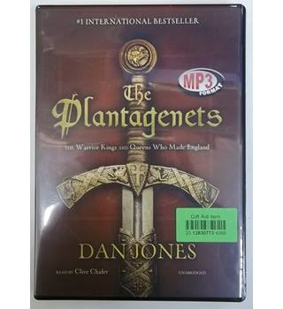 The Plantagenets, The warrior kings and queens who made England - CD/MP3 Audiobook