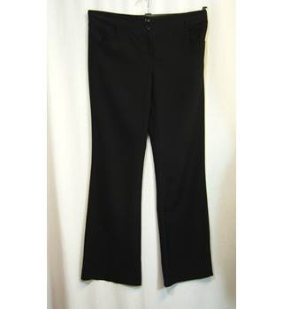 Red Herring Maternity - Size 8 - Black maternity trousers