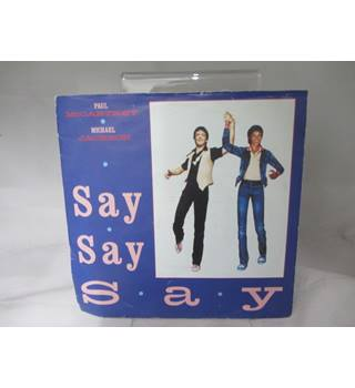 """Say Say Say"" By Paul Mccartney and Michael Jackson LP"