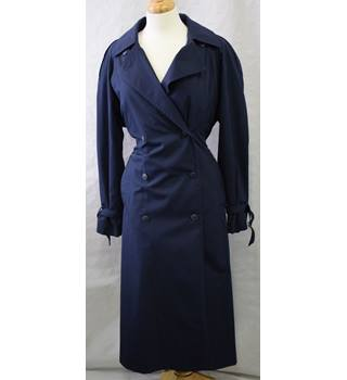 Caroll navy blue raincoat size 12 Caroll - Size: 12 - Blue - Raincoat