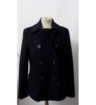 JOHNNIE B NAVY REEFER JACKET