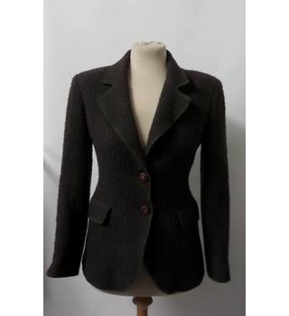 ARMANI JEANS BROWN BLAZER