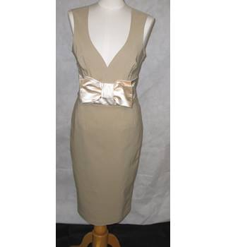 The Pretty Dress Company - Dress - Size 14 UK - Bridesmaid - Party - Fawn