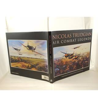 Air Combat Legends - 31 paintings of famous WW2 aircraft by Nicholas Trudgian publ 1998 David&Charles unclipped d/j