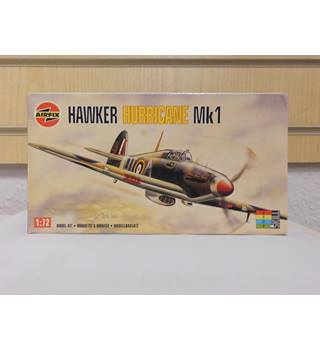 Hawker Hurricane Mk1 Airfix Model Aircraft