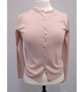 M&S Collection BNWOT - Size 10 - Pink Blush Shimmer - Cardigan