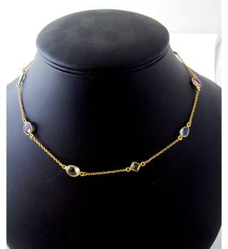 Silver 925 - Size: Small - Multi-coloured - Necklace