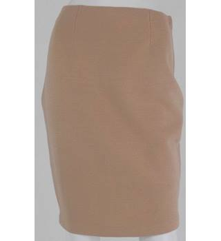 Jesire Caramel Wool Mini Skirt Size M
