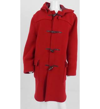 Gloverall Size 18 Red Duffle Coat