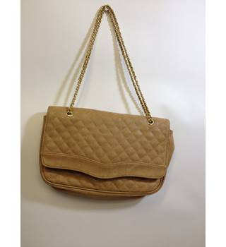 Marc B Quilted Handbag with Gold Detail