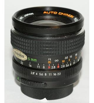 Chinon 35mm f2.8 fast aperture wide lens for Pentax M42 screw and other mounts with adapters