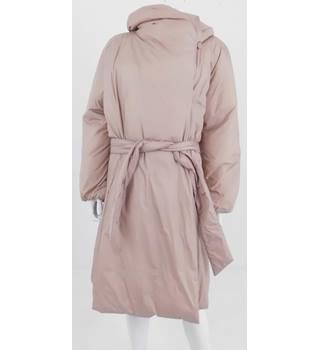 NWOT M&S Per Una Size 18 Dusty Pink Casual Puffer Coat