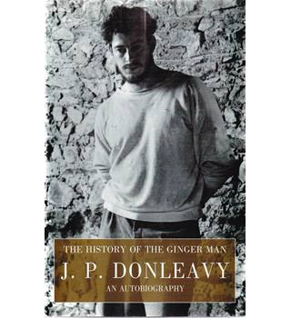 The History of the Ginger Man - J.P. Donleavy - Signed 1st edition