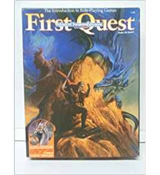 AD&D First Quest Audio/CD Game