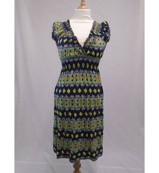 Izabel London Multi-Coloured Dress - Size 10