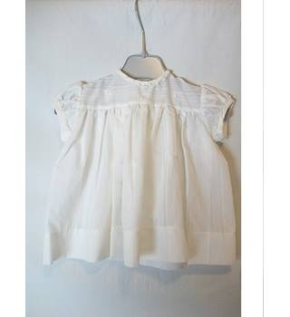 Baby's Vintage 1960's Dress by Lindsay's Babes Lindsay's Babes - Size: 0 - 12 months - White