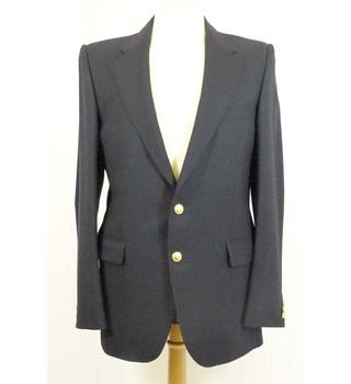 Black Wool Jacket from Christian Dior Monsieur in 38 inch chest size