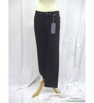 M&S Marks & Spencer - Size: M - Black - Trousers