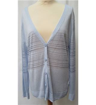 NWOT - Autograph - Size 14 - Light blue long sleeve cardigan