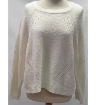 Per Una - size:14, cream jumper
