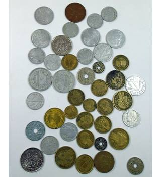 Mixed Early 20th Century  French Coins