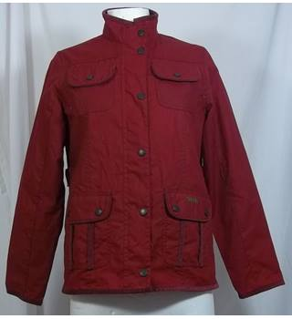 Barbour-Size L-Age 10/11-Red-Jacket.