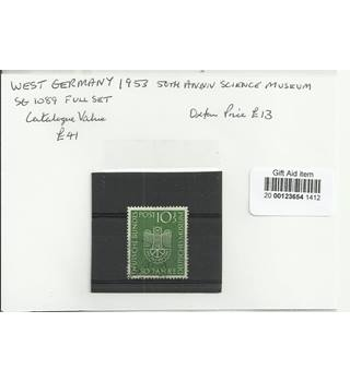 West Germany 1953 Green