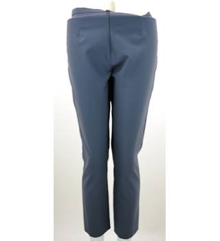 Emporio Armani - Size: 10 - Grey - Wool Mix Trousers
