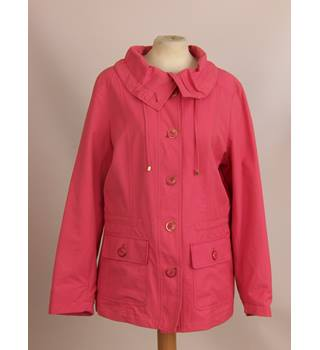 M&S Marks & Spencer - Size: 8 - Pink - Casual jacket / coat