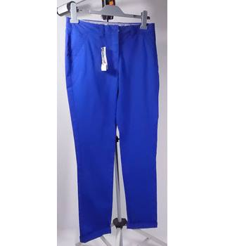 BNWT Papaya Trousers - Bright Blue - Size 10