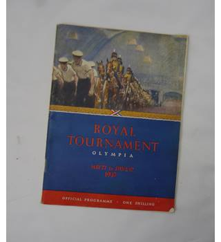 Royal Tournament Olympia Official Programme 1937