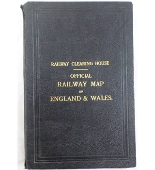 Official Railway Map of England & Wales