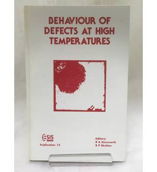 Behaviour of Defects at High Temperatures