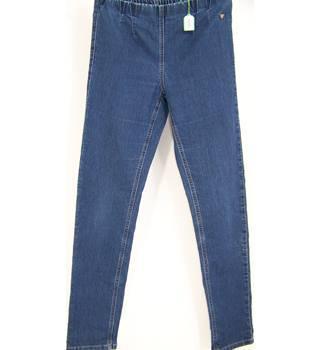 LauRie - Size: 8/10- Blue - Jeggings / stretch trousers