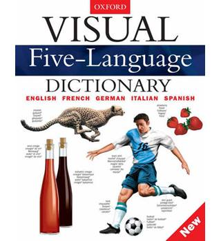 Visual Five-Language Dictionary: English, French, German, Italian, and, Spanish