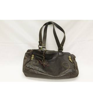 "Matthew Williamson - Soft Brown Leather ""Butterfly"" bag"