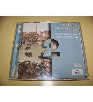 Corelli - The English Concert, Trevor Pinnock ‎– 12 Concerti Grossi Op. 6