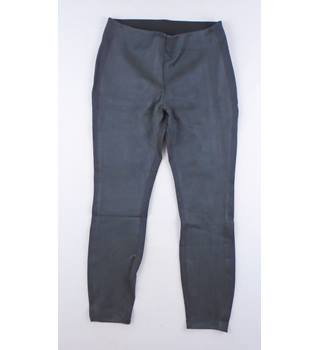 BNWOT Lands' End M Charcoal Stretch Leggings