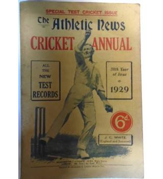 THE ATHLETIC NEWS CRICKET ANNUAL 1929