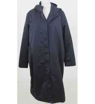 NWOT Autograph Size 12 Navy Hooded Raincoat