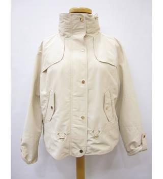 M&S cream jacket M&S Marks & Spencer - Size: 18 - Cream / ivory - Casual jacket / coat