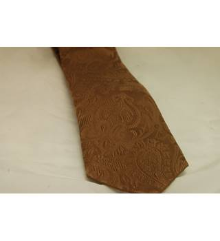 T.M.Lewin - Size: One size - Brown - Tie