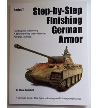 Step-by-step finishing German armor, Series 1