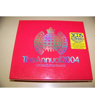 Ministry of Sound : The Annual 2004 - various artists - 3 CD box set