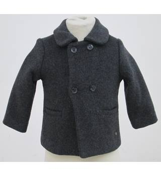 NWOT M&S  Age : 12-18 months - Grey Double breasted Overcoat